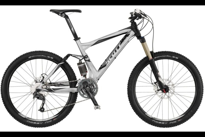 One of the bikes that was stolen