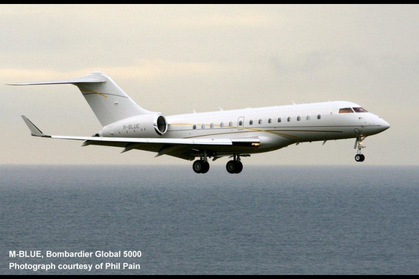 This was the 500th aircraft registered