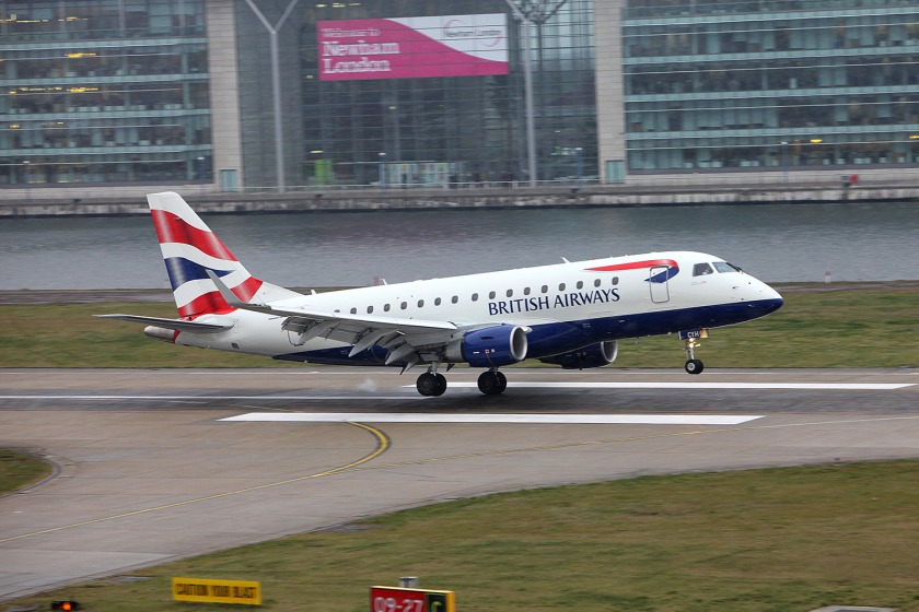 British Airways has taken over the London City route