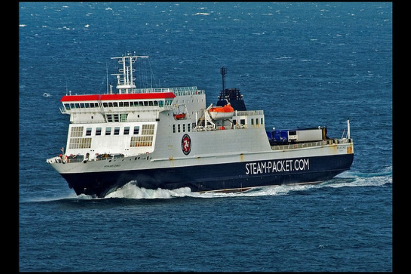 The Ben my Chree is the Steam Packet's flagship, and carries both freight and passengers
