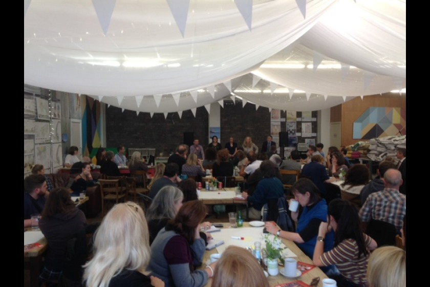 The event in full swing at Noa Bakehouse in Douglas.