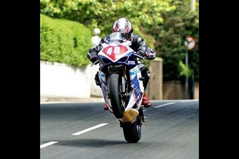 TT rider Paul Dobbs