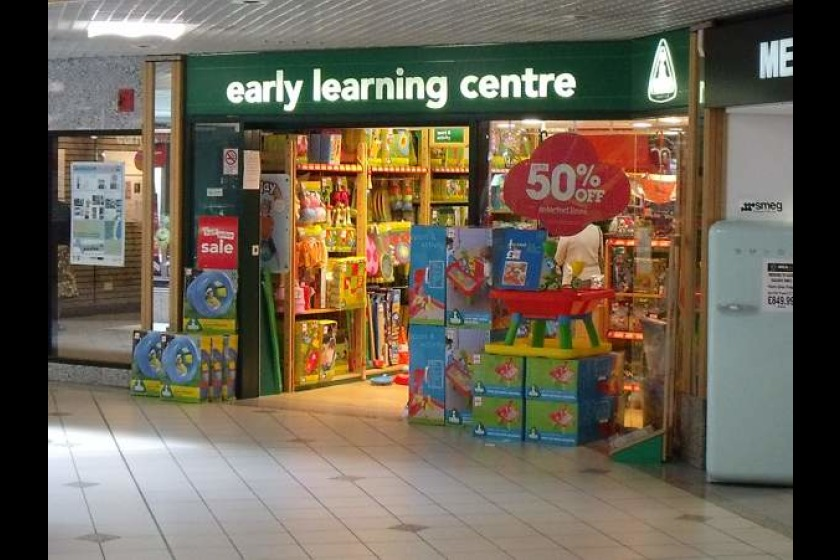 The Early Learning Centre in the Strand Shopping Centre is owned by Mothercare and is due to close on 12th May