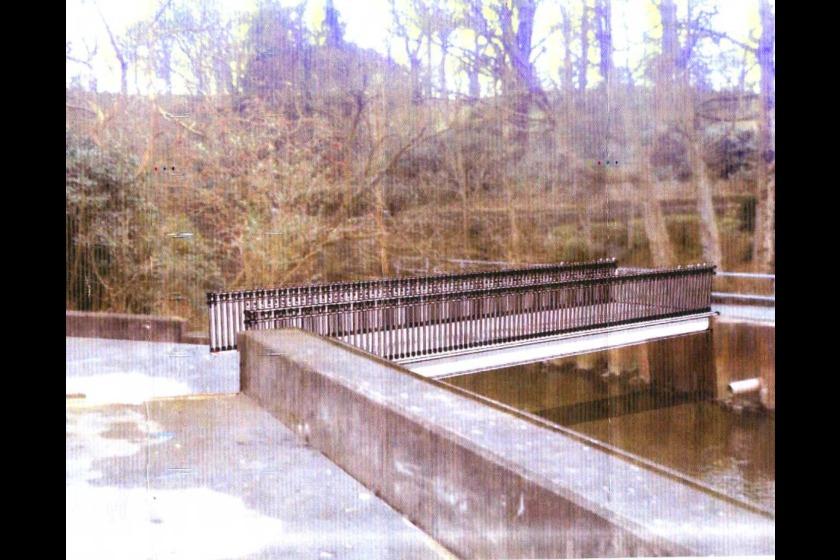 Artist's impression of the bridge