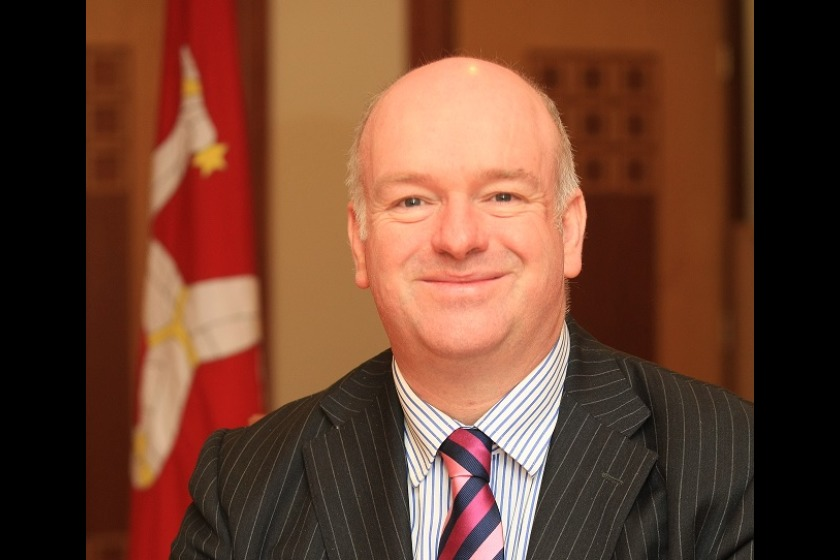 Chief Minister Howard Quayle