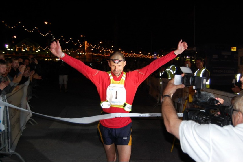 Jock Waddington competes in many endurance events