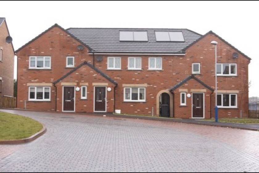 One of the new houses in Pulrose
