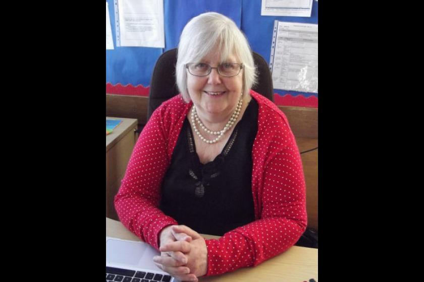 Headteacher Linda Smith