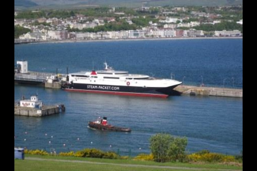 Manannan was scheduled to complete the Liverpool crossings tomorrow morning