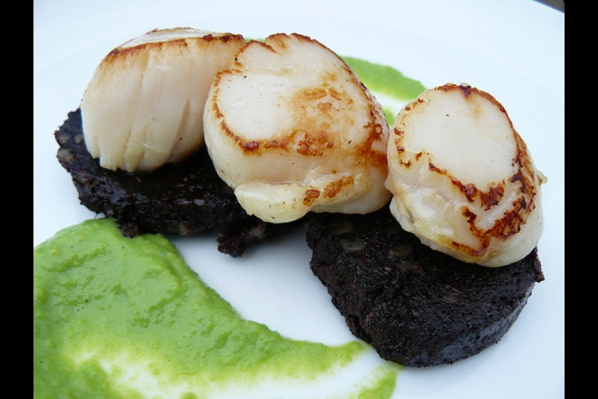 Manx queenie scallops are popular on the Island (picture from isleofmanfood.com)