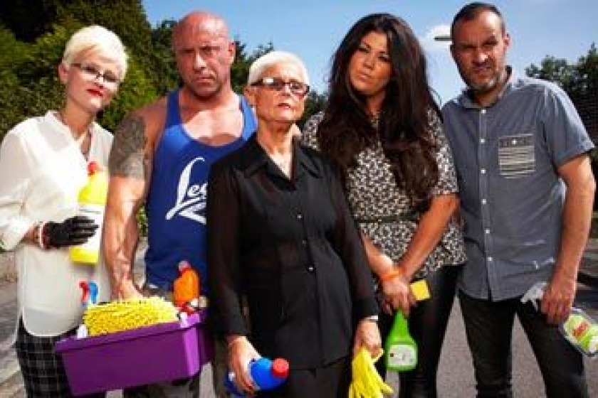 Channel 4's Obsessive Compulsive Cleaners team