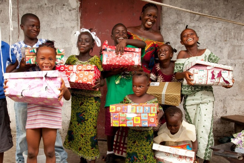 Operation Christmas Child sends presents far and wide