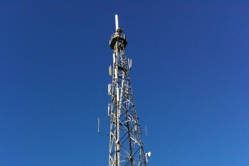 The Port St Mary TV Transmitter