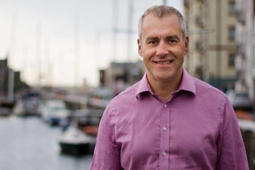 Infrastructure Minister Ray Harmer MHK