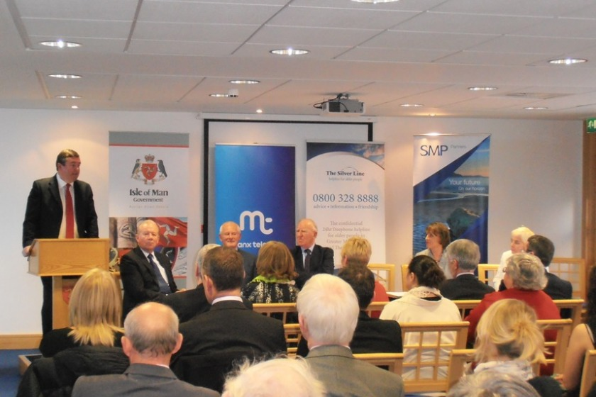 The Isle of Man launch