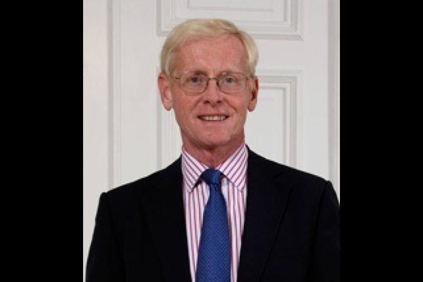 Lieutenant Governor of the Isle of Man Sir Richard Gozney