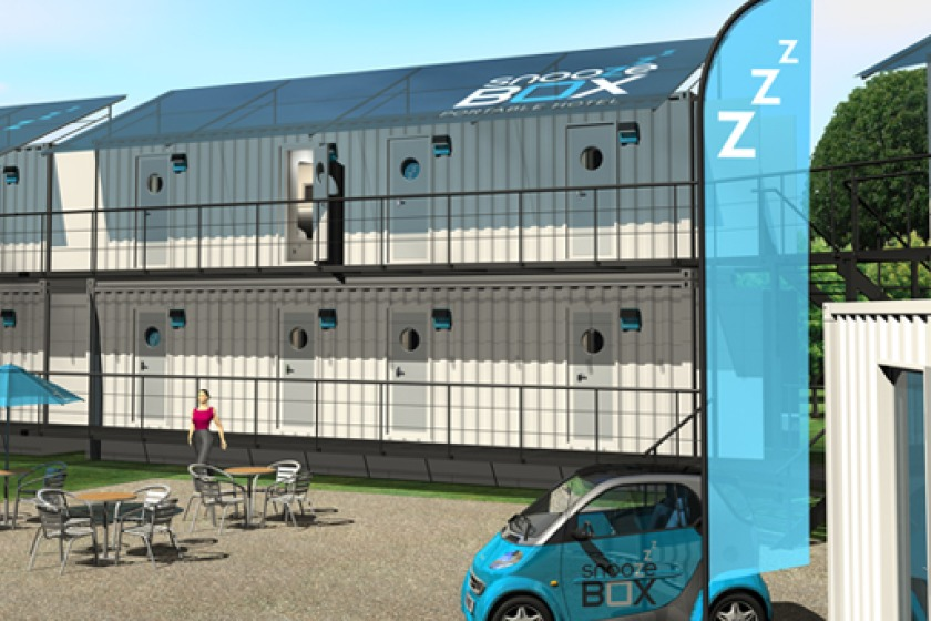 Snoozebox has become a familiar sight next to the TTGrandstand over recent years.