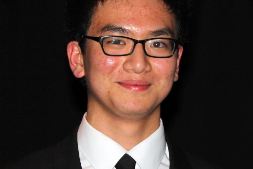 Student Stefan Fong