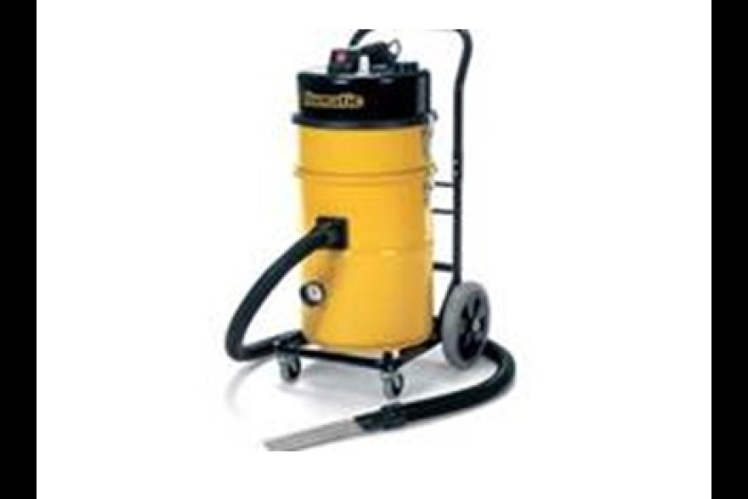 This hazardous waste material vacuum was stolen