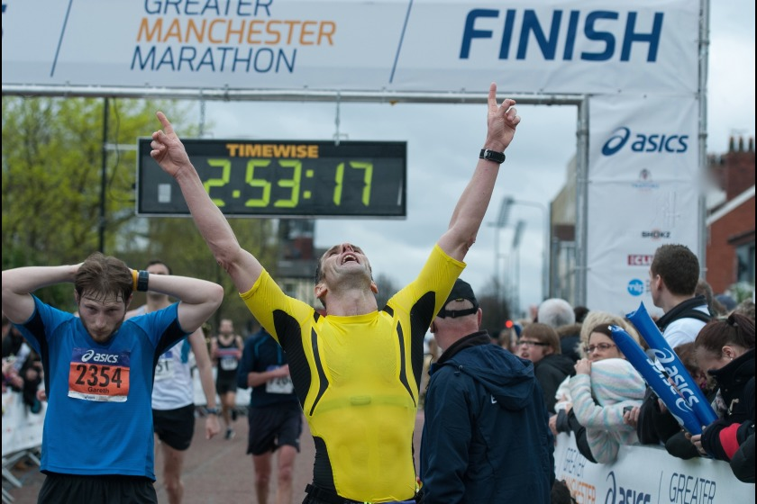 Greater Manchester Marathon 2014