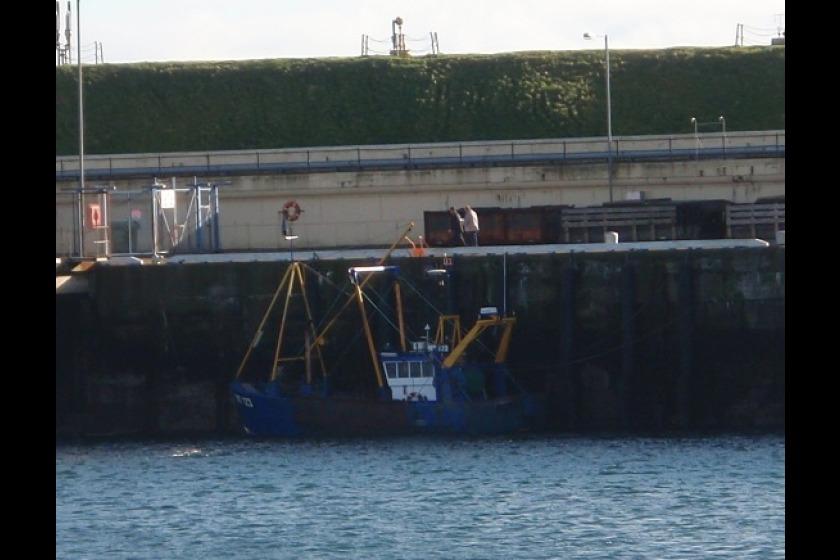 The fishing vessel Sam Lewette II MT 123