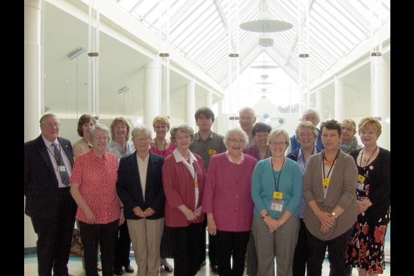 Some of the Island's army of volunteers