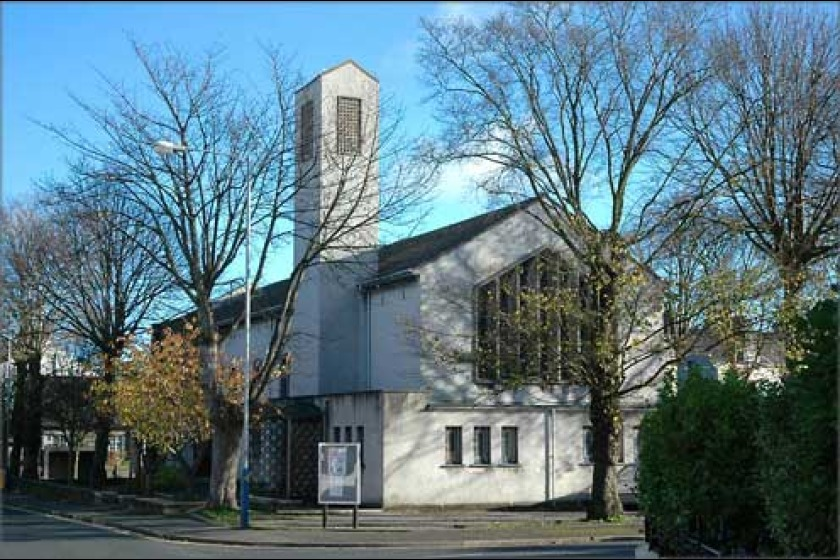 The Douglas West meeting takes place in All Saints' Church Hall, opposite All Saints' Church (pictured