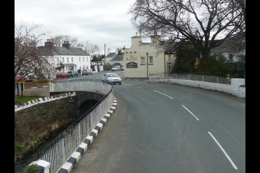 The incident happened at Ballaugh Bridge