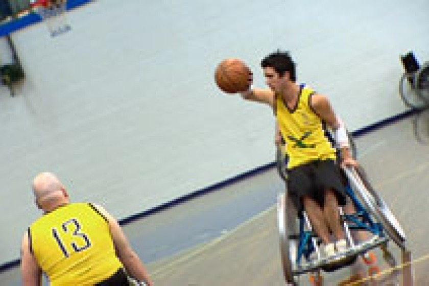 New members are wanted for a wheelchair sports club