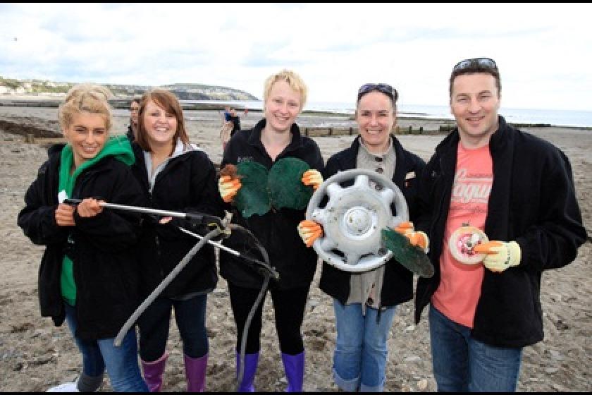Beach Buddies volunteers clean up the Island's beaches