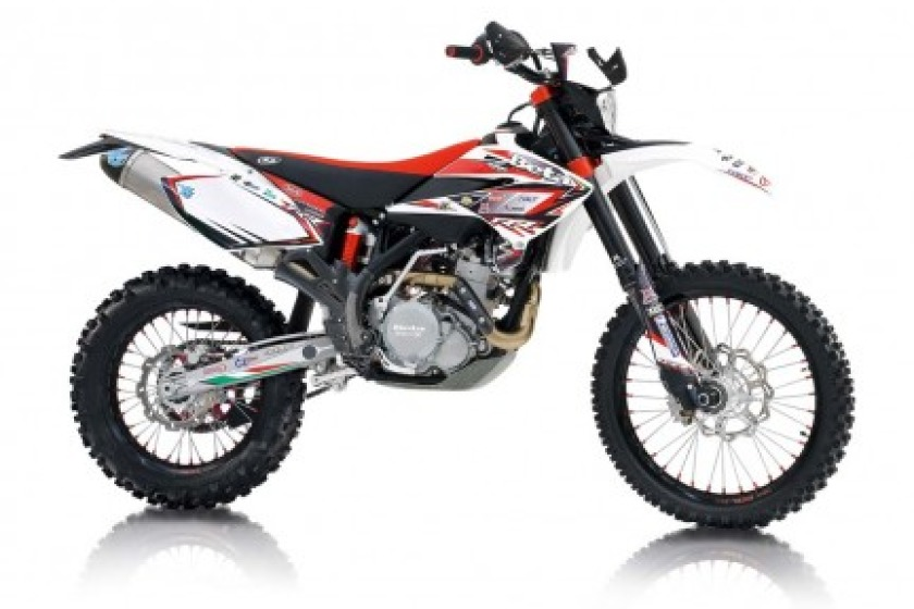 Example of a Beta trial bike