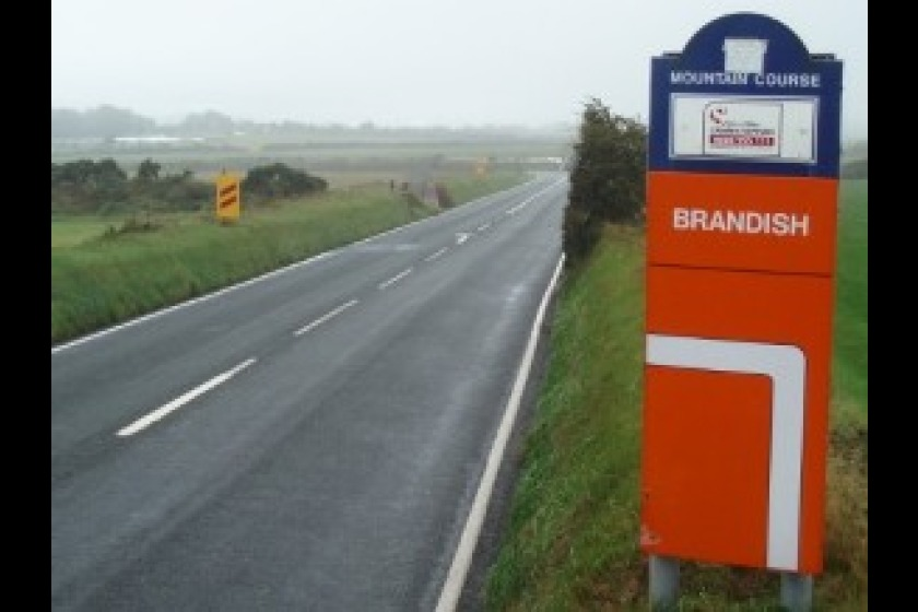 The approach to Brandish Corner