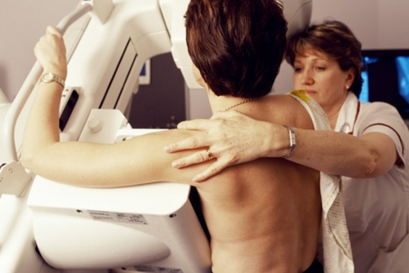 The report looked at breast screening