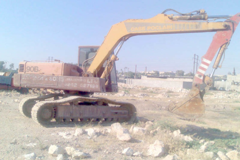 Example of a case poclain digger