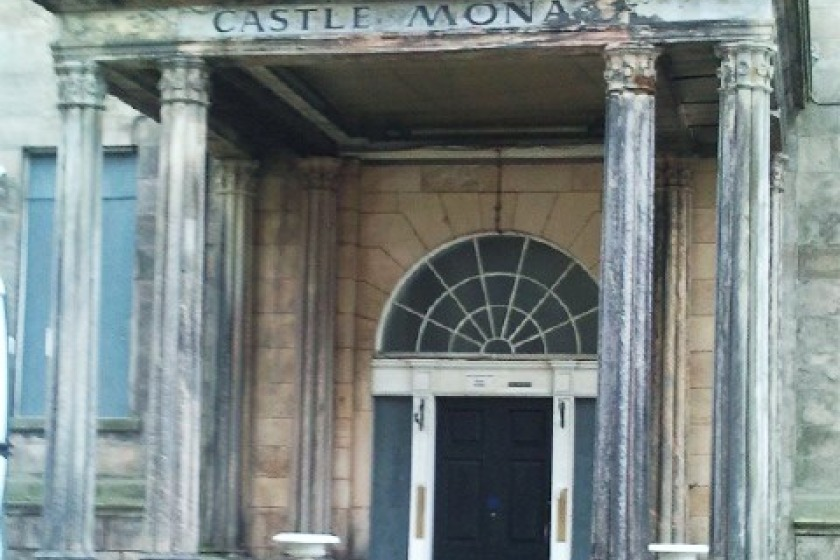 It would be housed at the Castle Mona
