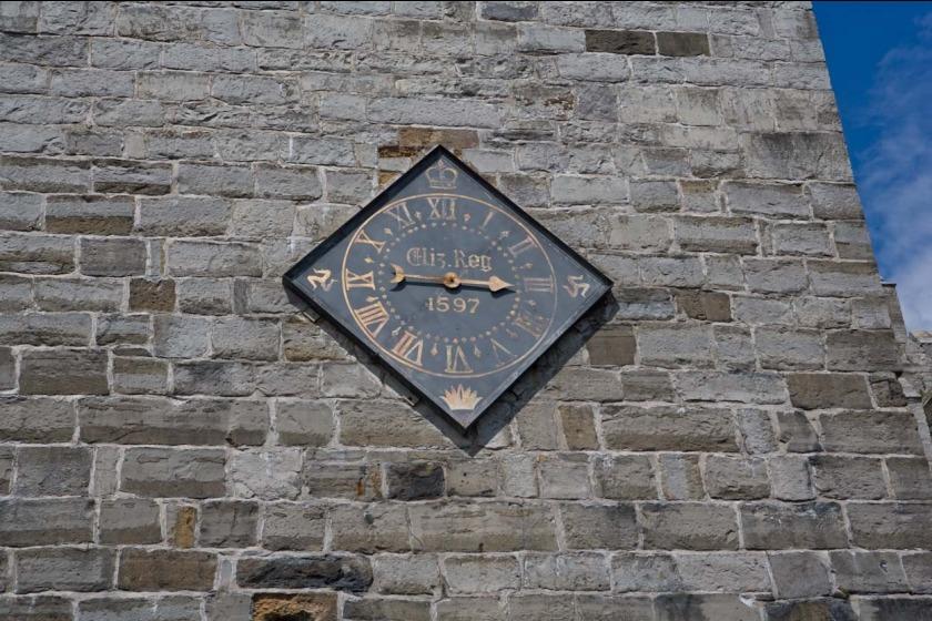 Castle Rushen clock