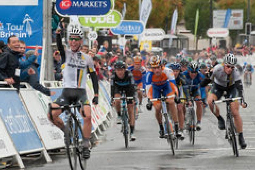 Mark Cavendish during the Tour of Britain