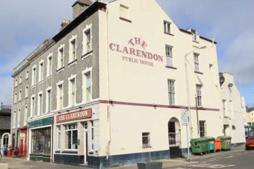 The Clarendon in Douglas (photo from manngo.im)