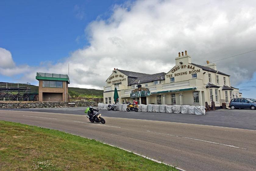 The Creg ny Baa on the Mountain Road, where the crash happened