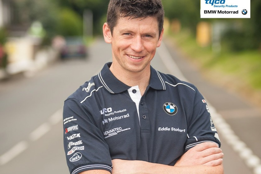 Manxman Dan Kneen will ride for Tyco BMW at this year's Ulster Grand Prix.