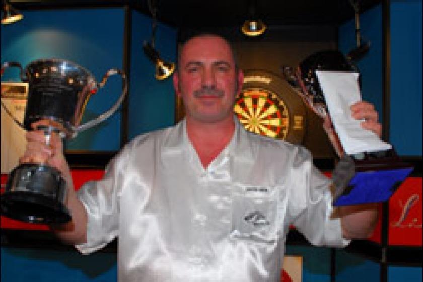 Last year's men's champion Dave Prins