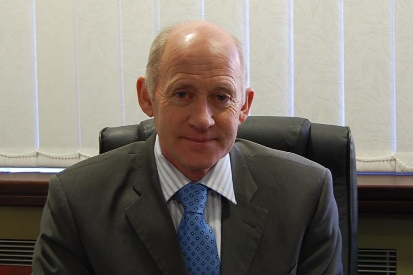 Health Minister David Anderson MHK