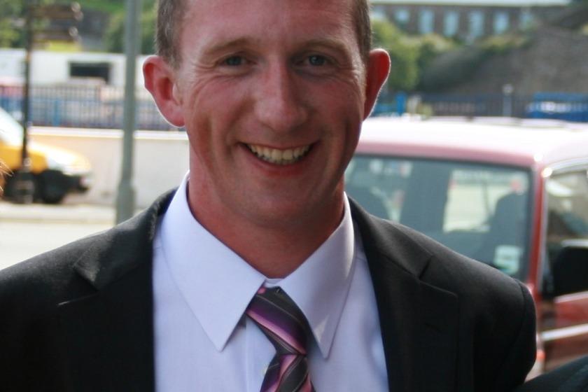 David Lees died in the crash last April
