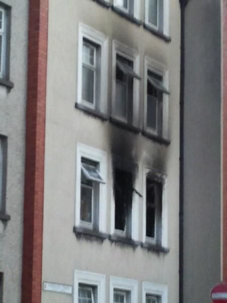 The burnt flat this morning