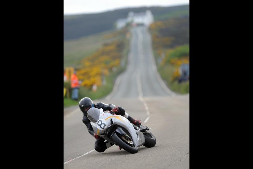 Guy Martin during TT2010