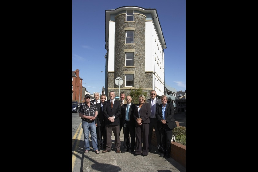 The opening of the new phase of Hanover House on Lord Street