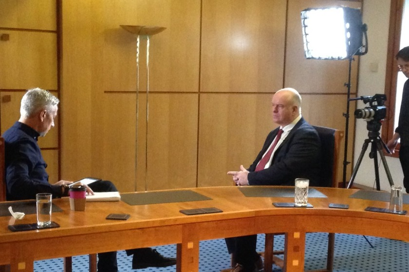 Chief Minister Howard Quayle spoke to BBC Panorama about the allegations made about the Isle of Man.
