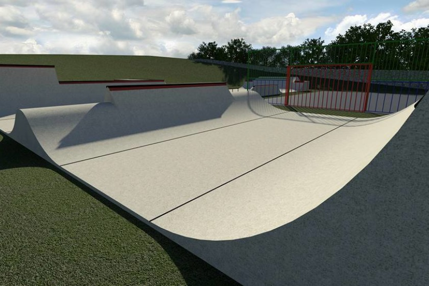 Plans for the Jactor skatepark were first unveiled last year.