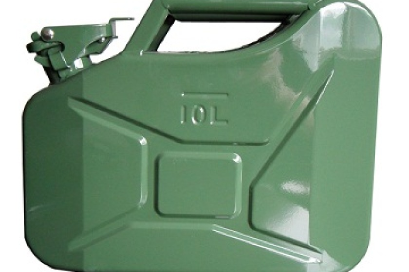 UK Minister Francis Maude had suggested storing fuel in jerry cans, which led to panic buying there