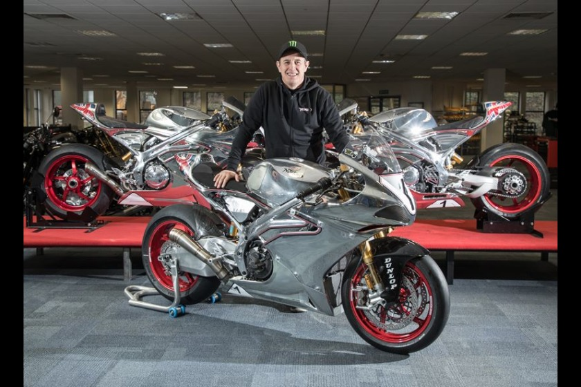 John McGuinness is due to ride for Norton at this year's TT